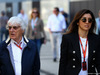 GP RUSSIA, 30.04.2017 - Bernie Ecclestone (GBR) e sua moglie Fabiana Flosi (BRA)