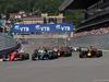 GP RUSSIA, 30.04.2017 - Gara, Start of the race, Kimi Raikkonen (FIN) Ferrari SF70H e Lewis Hamilton (GBR) Mercedes AMG F1 W08