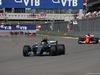 GP RUSSIA, 30.04.2017 - Gara, Valtteri Bottas (FIN) Mercedes AMG F1 W08 e Sebastian Vettel (GER) Ferrari SF70H