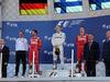 GP RUSSIA, 30.04.2017 - Gara, 1st place Valtteri Bottas (FIN) Mercedes AMG F1 W08, 2nd place Sebastian Vettel (GER) Ferrari SF70H e 3rd place Kimi Raikkonen (FIN) Ferrari SF70H