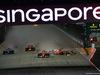 GP SINGAPORE, 17.09.2017 - Gara, Start of the race, Kimi Raikkonen (FIN) Ferrari SF70H after the crash  with Max Verstappen (NED) Red Bull Racing RB13 e Sebastian Vettel (GER) Ferrari SF70H