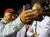 GP SINGAPORE, 17.09.2017 - Gara, Nikki Lauda (AU), Mercedes e Mansour Ojeh, McLaren shareholder