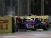 GP SINGAPORE, 17.09.2017 - Gara, Crash, Daniil Kvyat (RUS) Scuderia Toro Rosso STR12 retires from the race