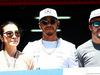 GP SPAGNA, (L to R): Michelle Yeoh (MAL) with Lewis Hamilton (GBR) Mercedes AMG F1 e Fernando Alonso (ESP) McLaren. 14.05.2017.