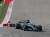 GP STATI UNITI, 22.10.2017 - Gara, Lewis Hamilton (GBR) Mercedes AMG F1 W08 davanti a Sebastian Vettel (GER) Ferrari SF70H