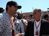 GP UNGHERIA, 30.07.2017 - Gara, Ashton Kutcher (USA) Actor e Chase Carey (USA) Formula One Group Chairman