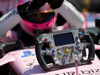 GP UNGHERIA, 30.07.2017 - Gara, Sahara Force India F1 VJM010 steering wheel