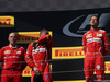 GP UNGHERIA, 30.07.2017 - Gara, Jock Clear (GBR) Ferrari Engineering Director, 2nd place Kimi Raikkonen (FIN) Ferrari SF70H e Sebastian Vettel (GER) Ferrari SF70H vincitore