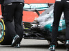 MERCEDES W08 HYBRID, Mercedes AMG F1 W08 rear suspension. 23.02.2017.
