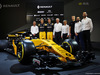 RENAULT RS17, (L to R): Bob Bell (GBR) Renault Sport F1 Team Chief Technical Officer; Nico Hulkenberg (GER) Renault Sport F1 Team; Jolyon Palmer (GBR) Renault Sport F1 Team; Jerome Stoll (FRA) Renault Sport F1 President; Alain Prost (FRA); Sergey Sirotkin (RUS) Renault Sport F1 Team Third Driver; Thierry Koskas, Renault Executive Vice President of Sales e Marketing; Cyril Abiteboul (FRA) Renault Sport F1 Managing Director, e the Renault Sport F1 Team RS17. 21.02.2017.