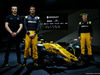 RENAULT RS17, ltr Sergey Sirotkin (RUS) Renault Sport F1 Team Third Driver with Jolyon Palmer (GBR) Renault Sport F1 Team e Nico Hulkenberg (GER) Renault Sport F1 Team. 21.02.2017.