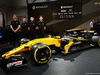 RENAULT RS17, (L to R): Jarno Opmeer (NLD) Renault Sport Academy Driver; Max Fewtrell (GBR) Renault Sport Academy Driver; Sun Yue Yang (CHN) Renault Sport Academy Driver; Jack Aitken (GBR) Renault Sport Academy Driver, with the Renault Sport F1 Team RS17. 21.02.2017.
