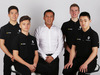 RENAULT RS17, Renault Sport Academy Drivers (L to R): Jack Aitken (GBR); Max Fewtrell (GBR); Mia Sharizman (MAL) Renault Sport Academy Director; Jarno Opmeer (NLD); Sun Yue Yang (CHN).  21.02.2017.
