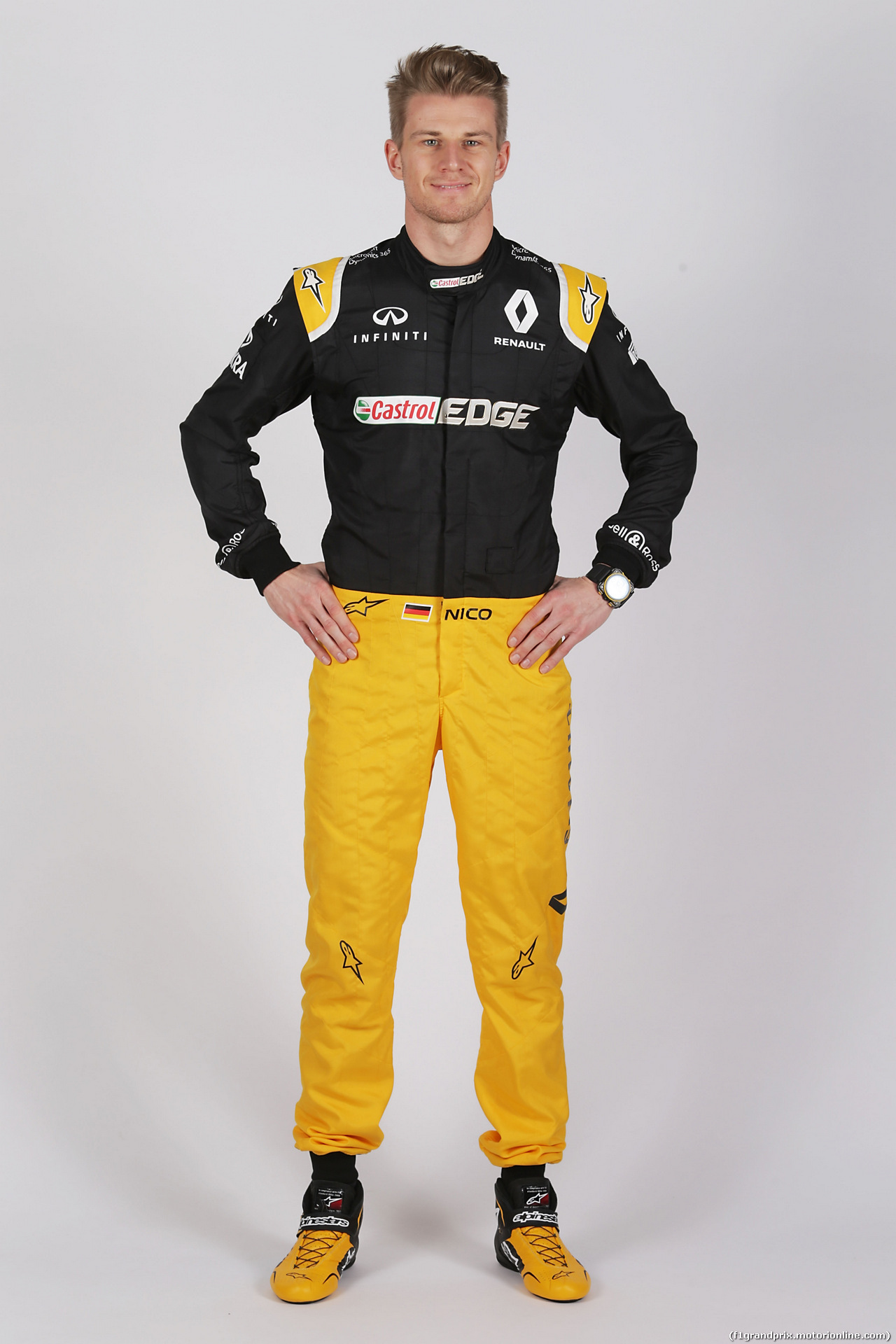 RENAULT RS17, Nico Hulkenberg (GER) Renault Sport F1 Team. 21.02.2017.