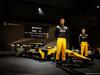 RENAULT RS17, Jolyon Palmer (GBR) Renault Sport F1 Team e team mate Nico Hulkenberg (GER) Renault Sport F1 Team with the Renault Sport F1 Team RS17. 21.02.2017.