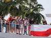 TEST ABU DHABI 28 NOVEMBRE, Fans of Robert Kubica (POL), Williams F1 Team 28.11.2017.