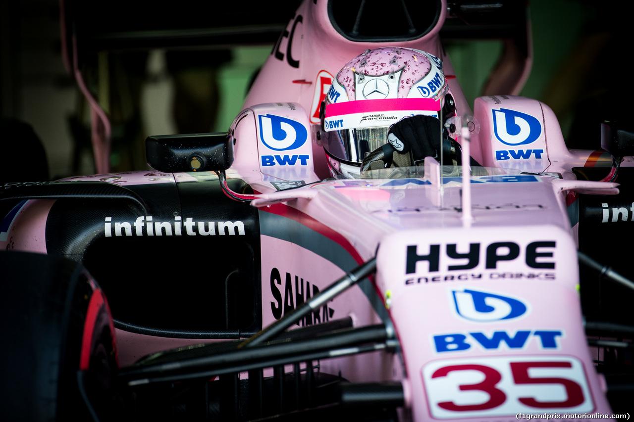 TEST ABU DHABI 28 NOVEMBRE, Nikita Mazepin (RUS) Sahara Force India F1 Team Development Driver. 28.11.2017.