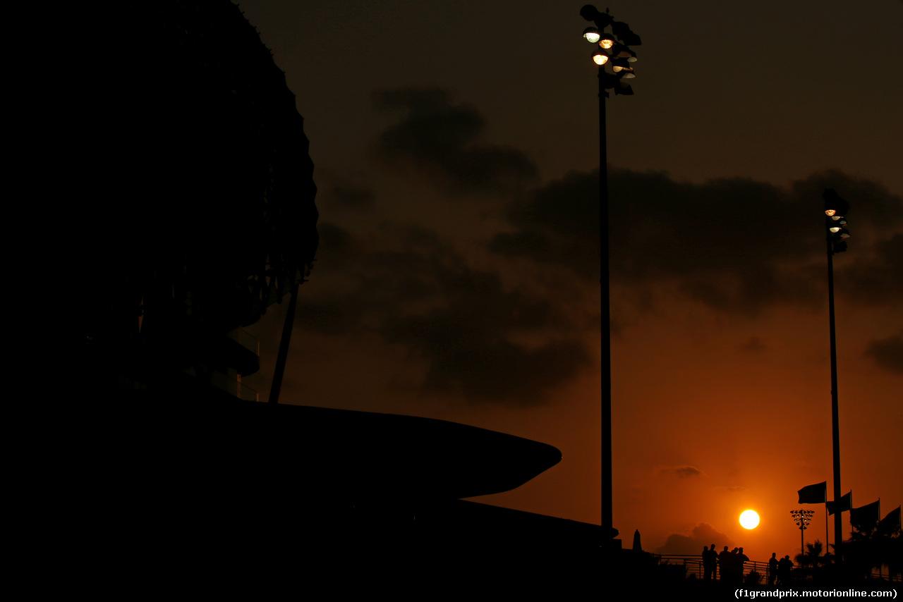 TEST ABU DHABI 28 NOVEMBRE, Track Atmosfera 28.11.2017.