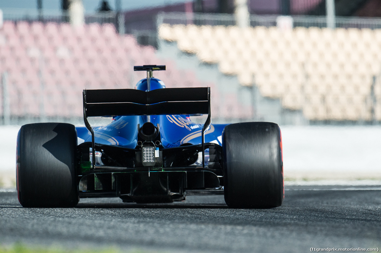TEST F1 BARCELLONA 10 MARZO, Marcus Ericsson (SWE) Sauber C36. 10.03.2017.