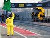 TEST F1 BARCELLONA 27 FEBBRAIO, The test session begins as a green flag is waved by a marshal. 27.02.2017.