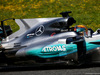 TEST F1 BARCELLONA 27 FEBBRAIO, Lewis Hamilton (GBR) Mercedes AMG F1 W08 - skark fin engine cover. 27.02.2017.