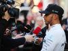 TEST F1 BARCELLONA 27 FEBBRAIO, Lewis Hamilton (GBR) Mercedes AMG F1 walks the circuit with the media. 27.02.2017.