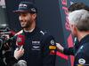 TEST F1 BARCELLONA 27 FEBBRAIO, Daniel Ricciardo (AUS) Red Bull Racing with the media. 27.02.2017.