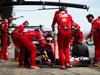 TEST F1 BARCELLONA 8 MARZO, Kimi Raikkonen (FIN) Ferrari SF70H in the pits. 08.03.2017.