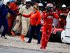 TEST F1 BARCELLONA 8 MARZO, Kimi Raikkonen (FIN) Ferrari walks from his Ferrari SF70H after crashing. 08.03.2017.