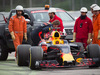 TEST F1 BARCELLONA 8 MARZO, Max Verstappen (NLD) Red Bull Racing RB13 stopped on the circuit. 08.03.2017.