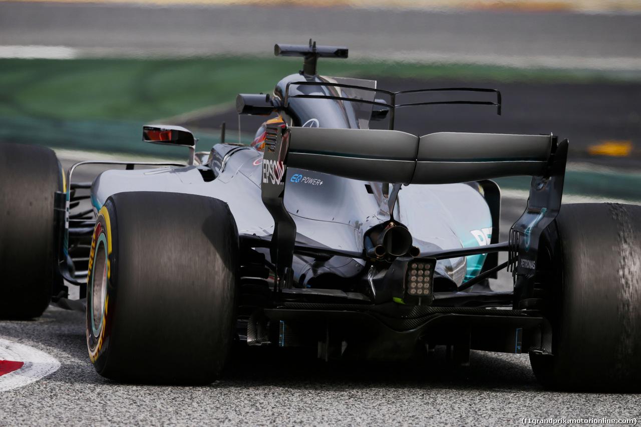 TEST F1 BARCELLONA 8 MARZO, Lewis Hamilton (GBR) Mercedes AMG F1 W08. 08.03.2017.