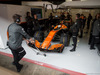 TEST F1 BARCELLONA 8 MARZO, Stoffel Vandoorne (BEL) McLaren MCL32 in the pits. 08.03.2017.