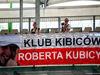 TEST F1 BUDAPEST 01 AGOSTO, Robert Kubica (POL) Renault Sport F1 Team Test Driver fans e banner. 01.08.2017.