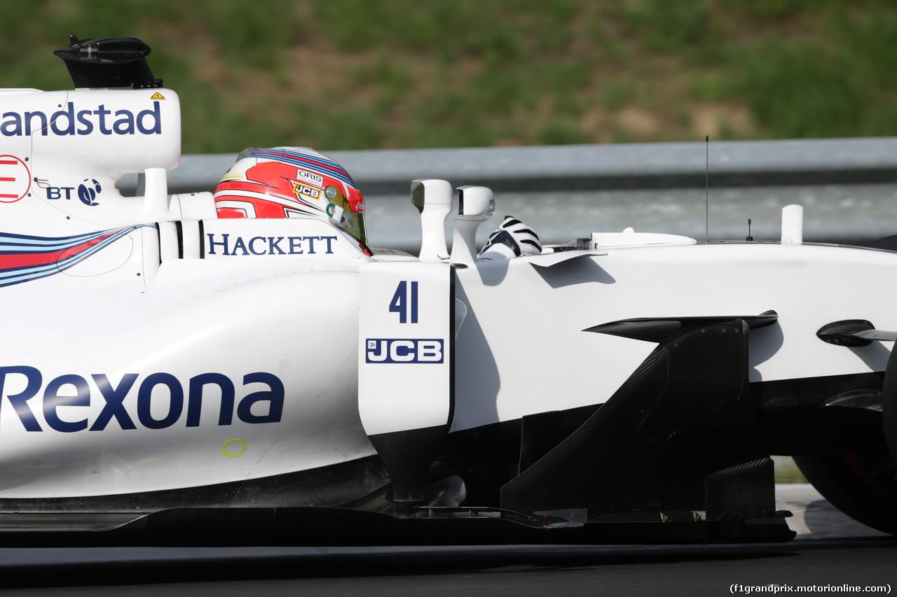 TEST F1 BUDAPEST 02 AGOSTO, Luca Ghiotto (ITA) Williams FW40 Test Driver. 02.08.2017.