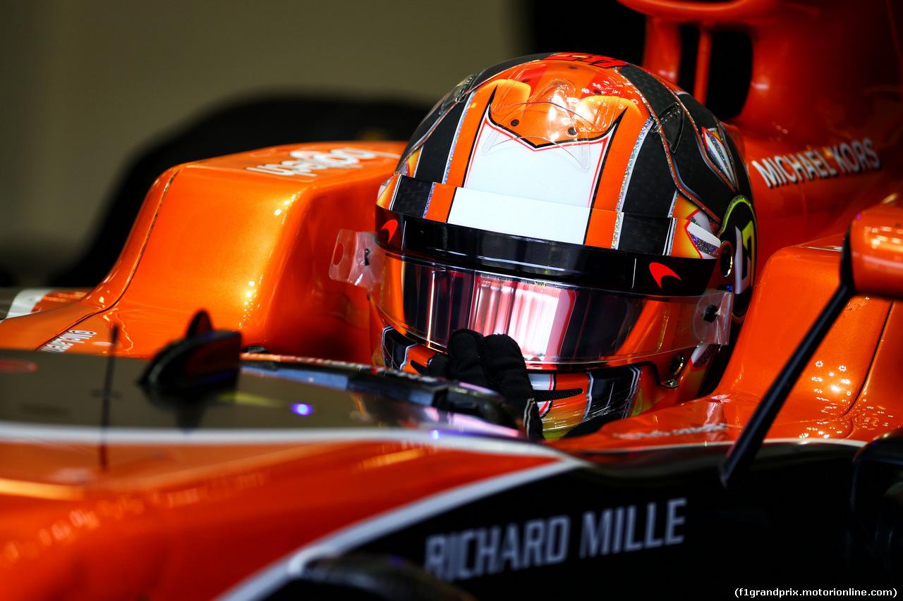 TEST F1 BUDAPEST 02 AGOSTO, Stoffel Vandoorne (BEL) McLaren MCL32. 02.08.2017.