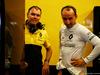 TEST F1 BUDAPEST 02 AGOSTO, Robert Kubica (POL) Renault Sport F1 Team Test Driver with Alan Permane (GBR) Renault Sport F1 Team Trackside Operations Director. 02.08.2017.