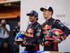 TORO ROSSO STR12, (L to R): Carlos Sainz Jr (ESP) Scuderia Toro Rosso with team mate Daniil Kvyat (RUS) Scuderia Toro Rosso. 26.02.2017.