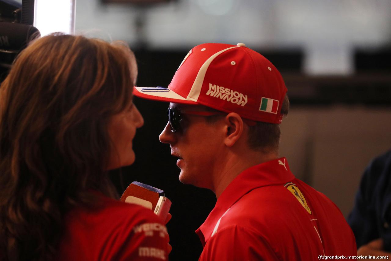 GP ABU DHABI, 25.11.2018 - Gara, Kimi Raikkonen (FIN) Ferrari SF71H