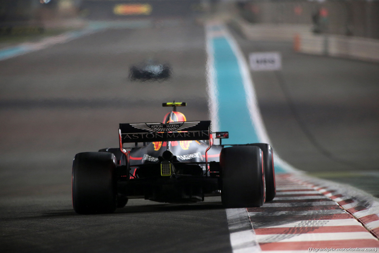 GP ABU DHABI, 25.11.2018 - Gara, Max Verstappen (NED) Red Bull Racing RB14