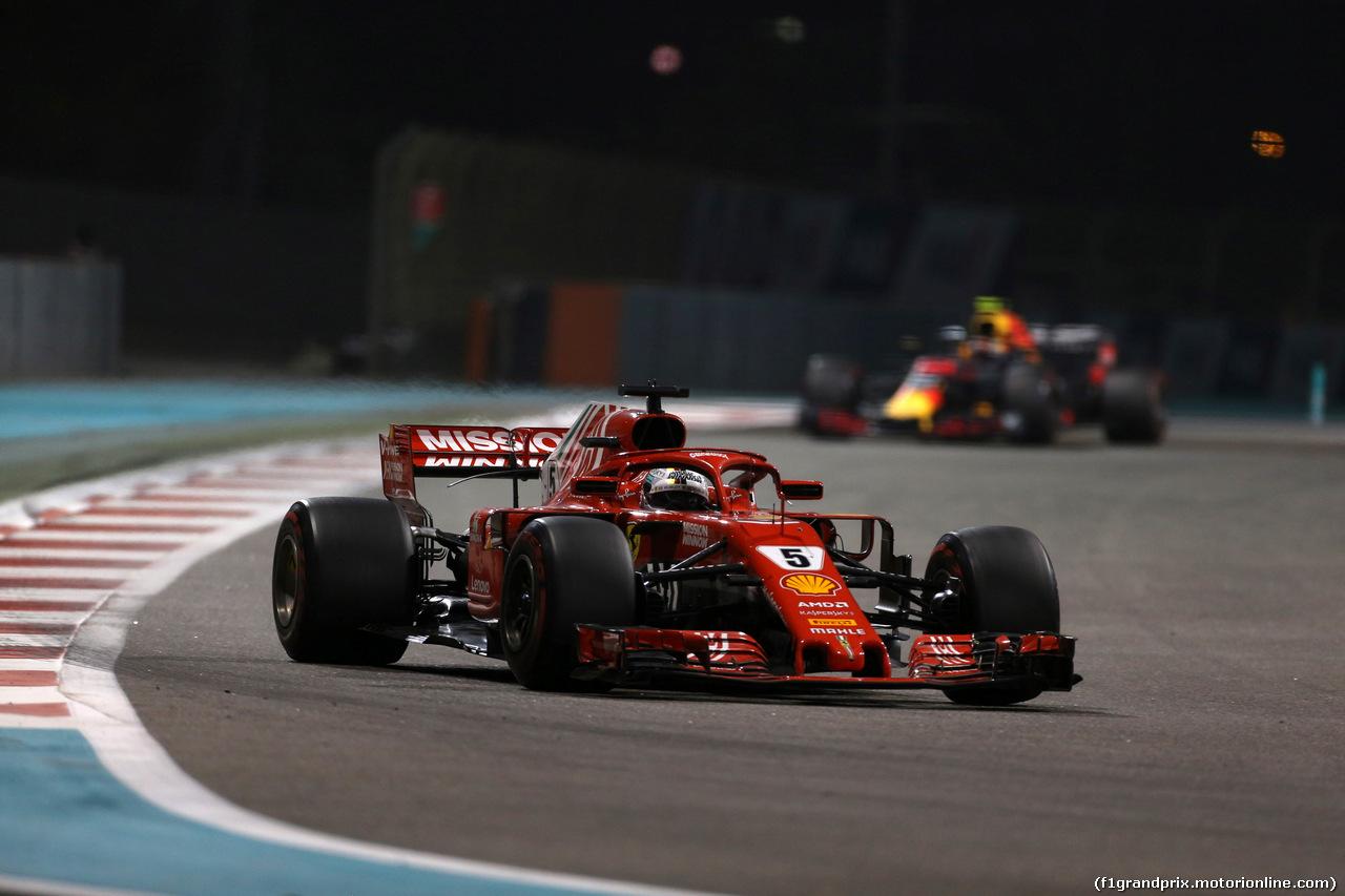 GP ABU DHABI, 25.11.2018 - Gara, Sebastian Vettel (GER) Ferrari SF71H