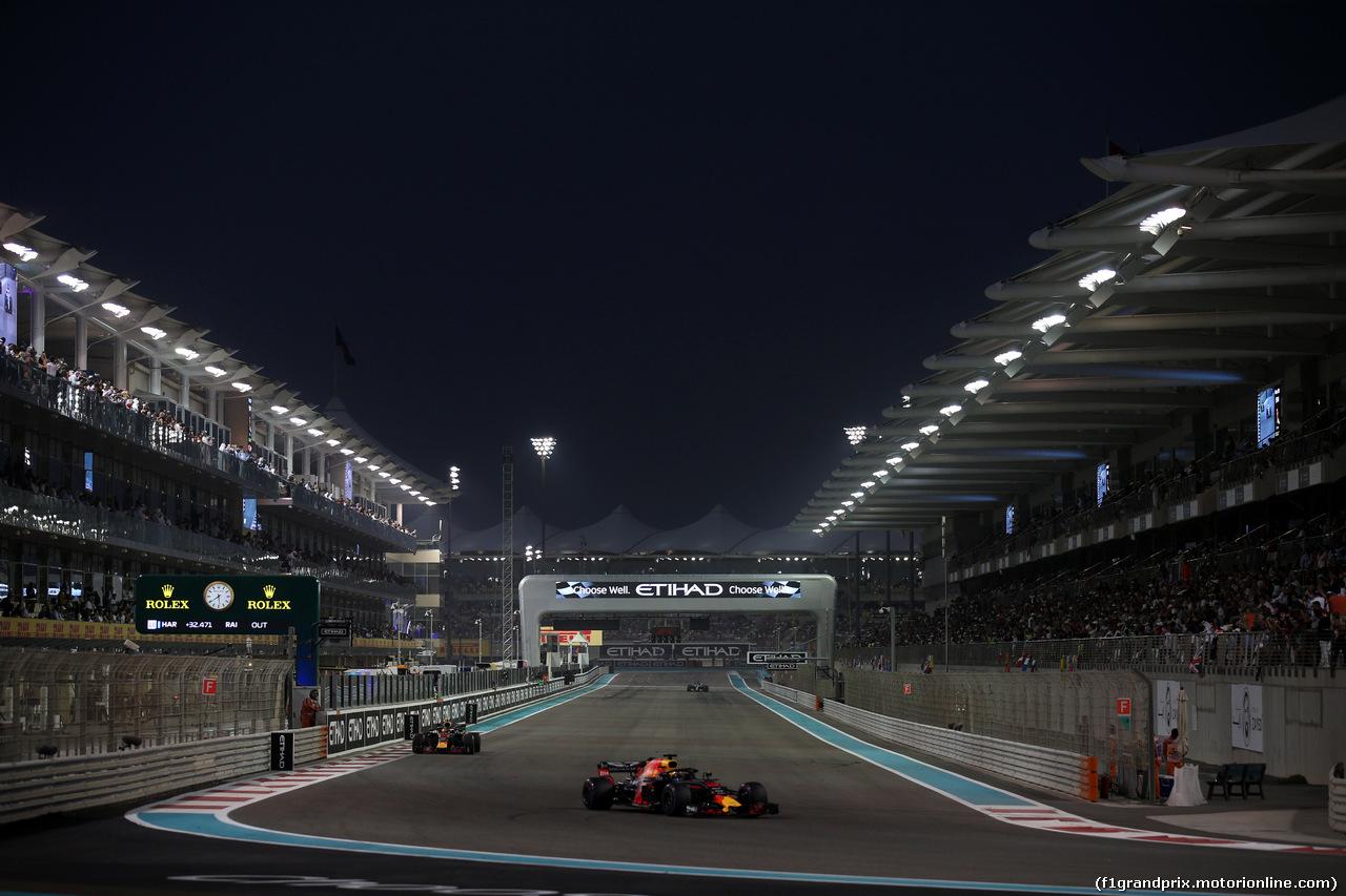 GP ABU DHABI, 25.11.2018 - Gara, Daniel Ricciardo (AUS) Red Bull Racing RB14