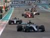 GP ABU DHABI, 25.11.2018 - Gara, Lewis Hamilton (GBR) Mercedes AMG F1 W09 davanti a Valtteri Bottas (FIN) Mercedes AMG F1 W09