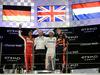 GP ABU DHABI, 25.11.2018 - Gara, 2nd place Sebastian Vettel (GER) Ferrari SF71H, Lewis Hamilton (GBR) Mercedes AMG F1 W09 vincitore e 3rd place Max Verstappen (NED) Red Bull Racing RB14