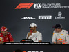 GP ABU DHABI, 25.11.2018 - Gara, Conferenza Stampa, Sebastian Vettel (GER) Ferrari SF71H, Lewis Hamilton (GBR) Mercedes AMG F1 W09 e Max Verstappen (NED) Red Bull Racing RB14