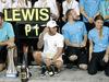 GP ABU DHABI, 25.11.2018 - Gara, Festeggiamenti, Lewis Hamilton (GBR) Mercedes AMG F1 W09 vincitore