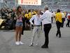 GP ABU DHABI, 25.11.2018 - Gara, Alain Prost (FRA) Renault Sport F1 Team Special Advisor e Jerome Stoll (FRA) Renault Sport F1 President