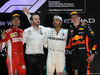 GP ABU DHABI, 25.11.2018 - Gara, 2nd place Sebastian Vettel (GER) Ferrari SF71H, Lewis Hamilton (GBR) Mercedes AMG F1 W09 vincitore e 3rd place Max Verstappen (NED) Red Bull Racing RB14