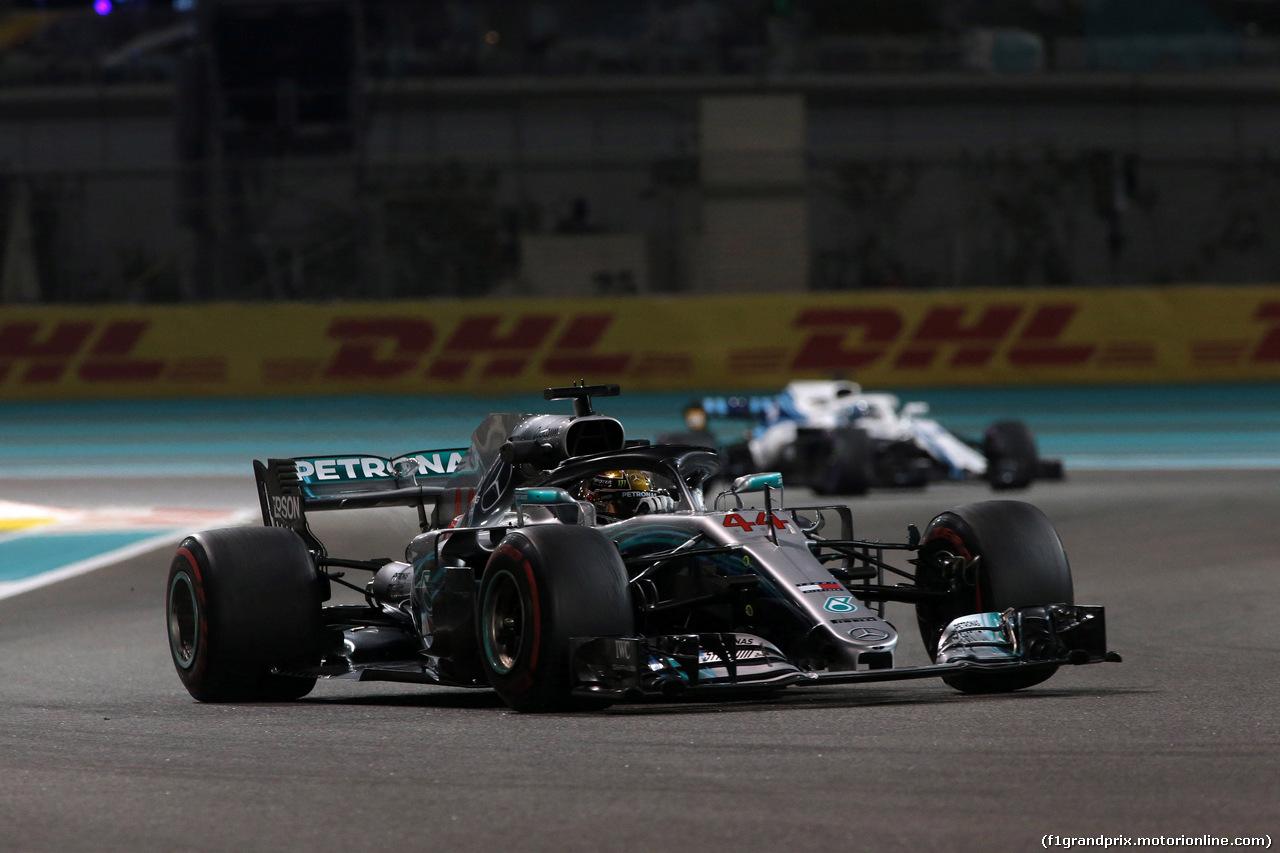 GP ABU DHABI, 23.11.2018 - Prove Libere 2, Lewis Hamilton (GBR) Mercedes AMG F1 W09