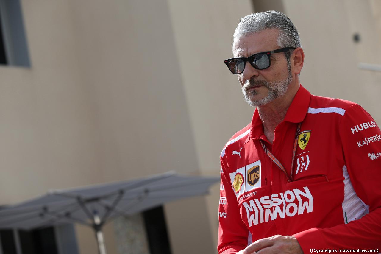 GP ABU DHABI, 24.11.2018 - Maurizio Arrivabene (ITA) Ferrari Team Principal
