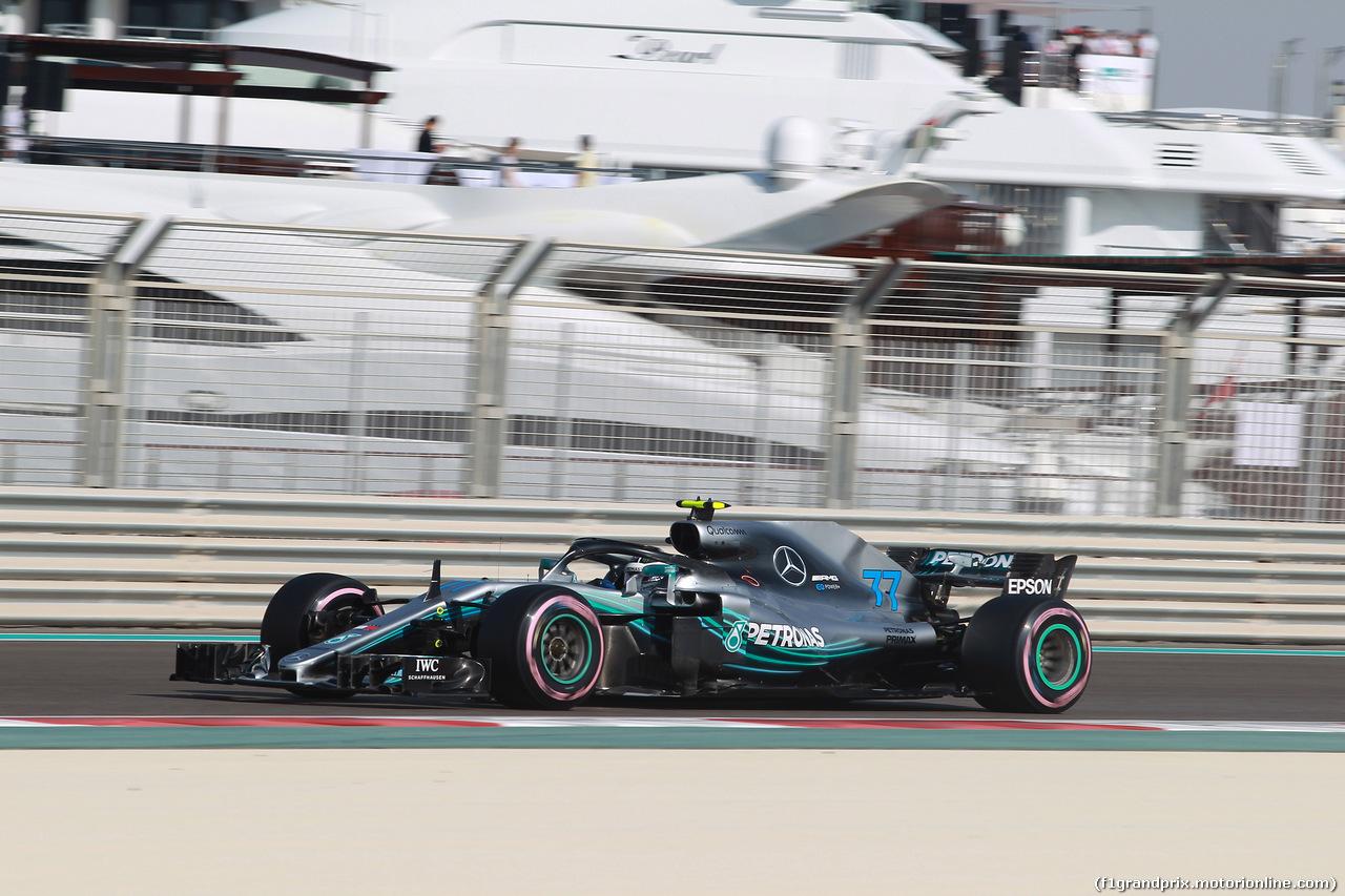 GP ABU DHABI, 24.11.2018 - Prove Libere 3, Valtteri Bottas (FIN) Mercedes AMG F1 W09